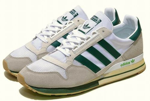 4d37b6fa3c610 ADIDAS-ZX-500-OG-UNITED-ARROWS-JAPAN-White-Green -Suede-Nylon-retro-Ltd-UK10-5