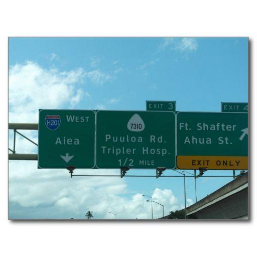 USA - Hawaii - Honolulu - Freeway