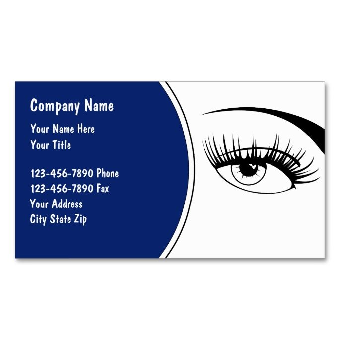 Optometry Business Cards This Great Business Card Design Is