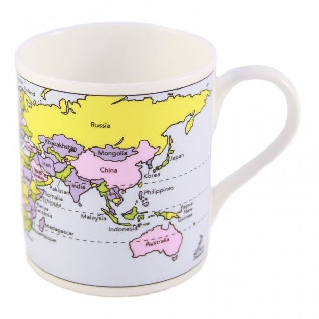 world map mug small 695 mugs periodic table educational mugs illustrated living - Periodic Table Mug Australia