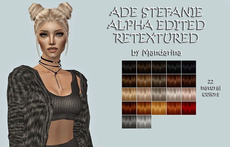 Lana Cc Finds Mandarinasims Ade Stefanie Alpha Edited Sims 2 Hair Sims Cc Alpha All reblogs found here are for the sims 2! sims 2 hair sims cc