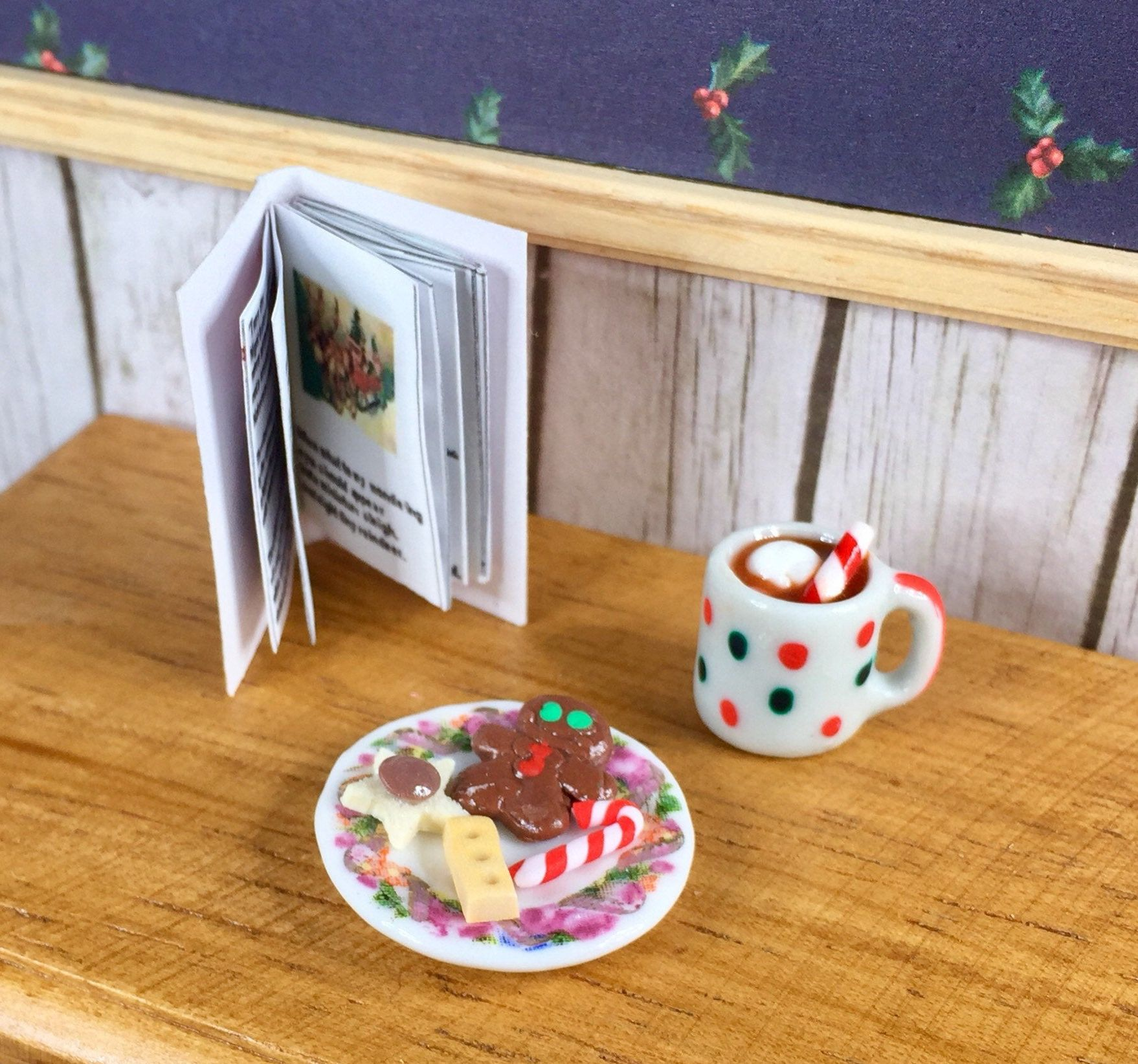 Cup of Hot Cocoa Dollhouse Miniature Food 1:12 Scale Kitchen