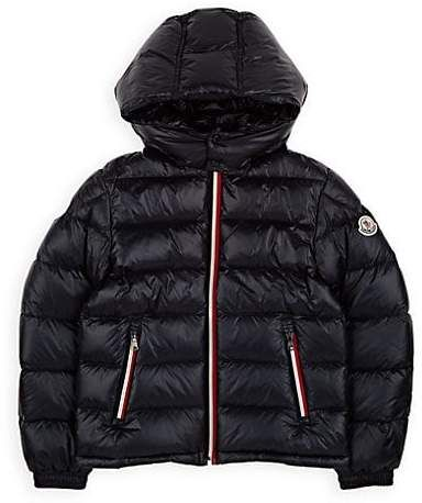 b20634c08 Moncler Kids' Gastonet Down-Quilted Coat - Navy | Products in 2019 ...