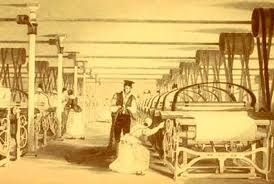 In 1785 Edmund Cartwright Invented The First Power Loom The Power