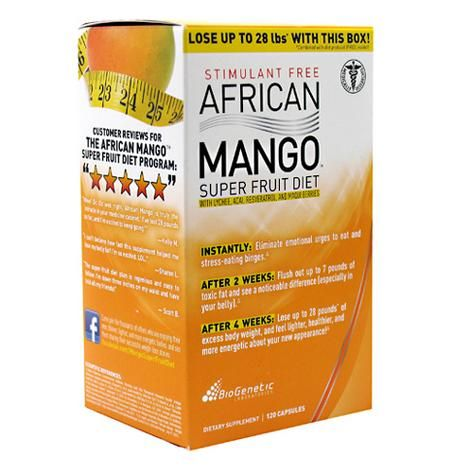 BioGenetic Laboratories African Mango Super Fruit Diet, 120 Capsules-  African Mango! Grown in the African regions of Cameroon, and purified to perfection, African Mango has been featured all over the media. Scientific studies have demonstrated it can help you reduce excess bodyweight, improve cholesterol, and control appetite.  For more product info- http://vitamonster.co/products/biogenetic-laboratories-african-mango-super-fruit-diet-120-capsules