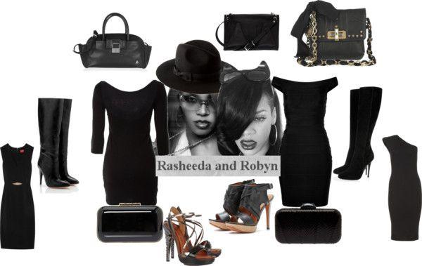 """""""Rasheeda and Rihanna"""" by djlbg on Polyvore"""