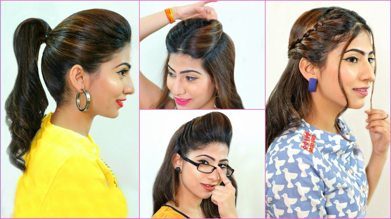 5 everyday hairstyles every teenager/office/college girls