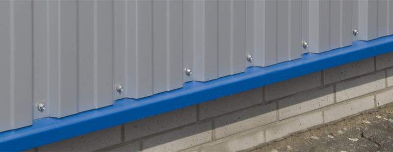Tropfkante Trapezblechwand Trapezblech Blech Fassade Wandverkleidung