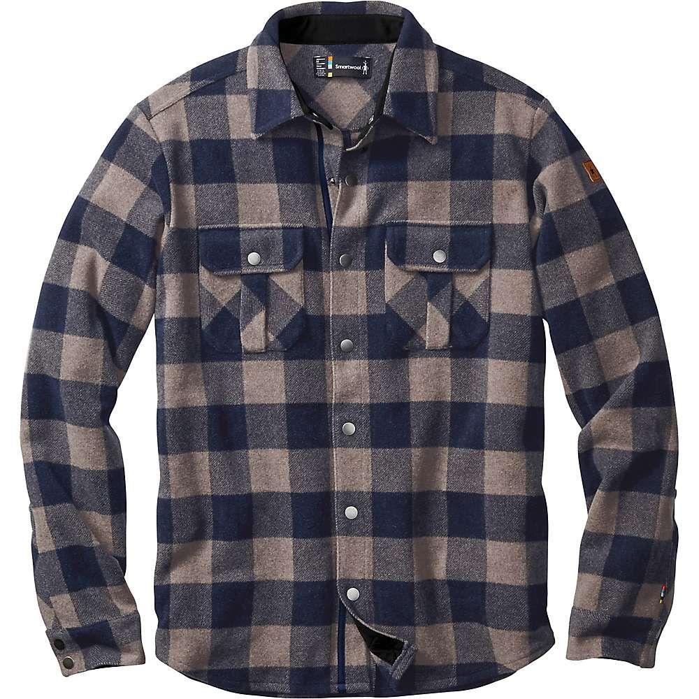 11b32d4e9ff Smartwool Men s Anchor Line Shirt Jacket - Small - Navy