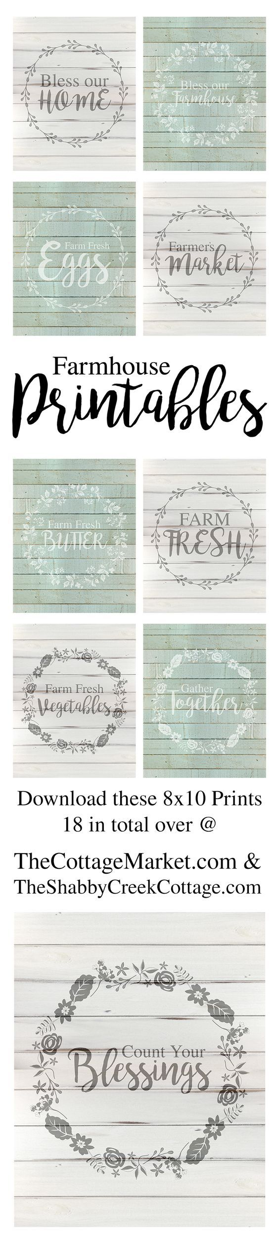 free farmhouse printables with sayings printable art farmhouse decor prints on farmhouse kitchen quotes free printable id=81096