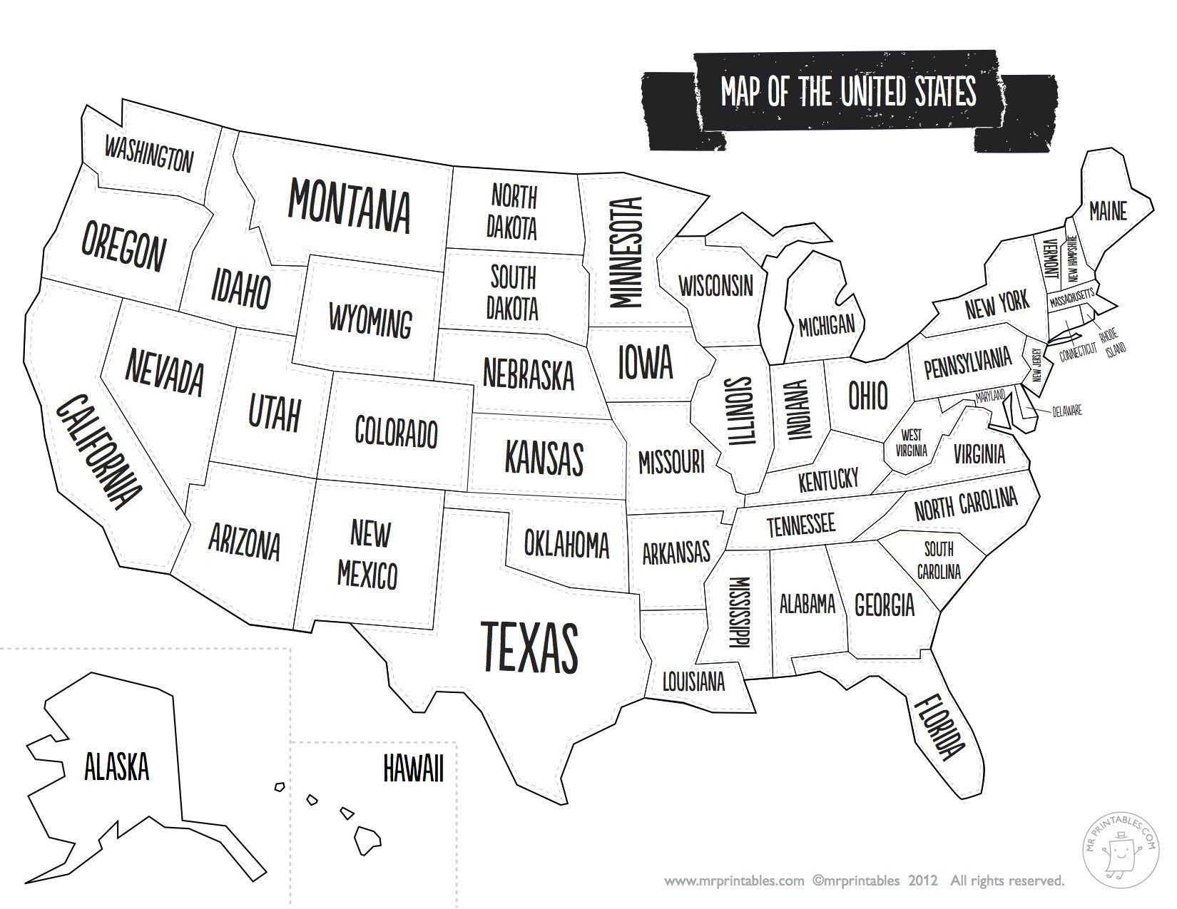 Usa Map Colouring Page Homeschool Social Studies Teaching Social Studies Usa Map