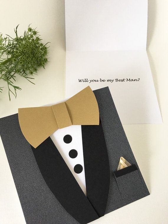 Will you be my Groomsman Wedding Invitation by CallMeCraftie Its - best of invitation card about wedding