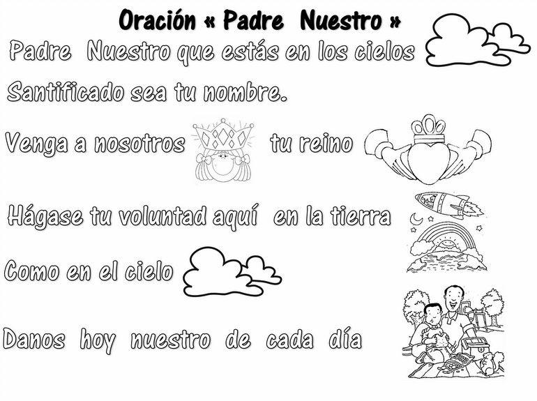 Cancion Padre Nuestro Para Ninos - Unifeed.club