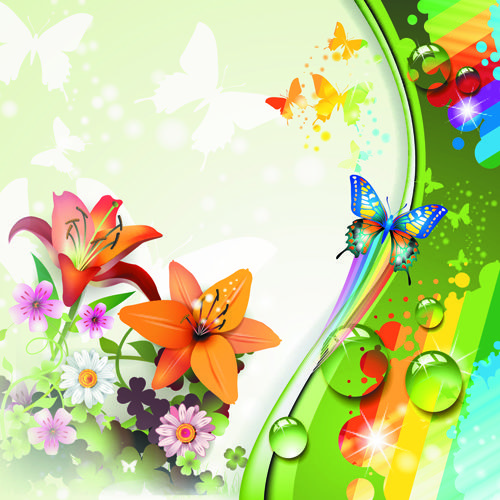 Http://freedesignfile.com/16003-colorful-flower-and