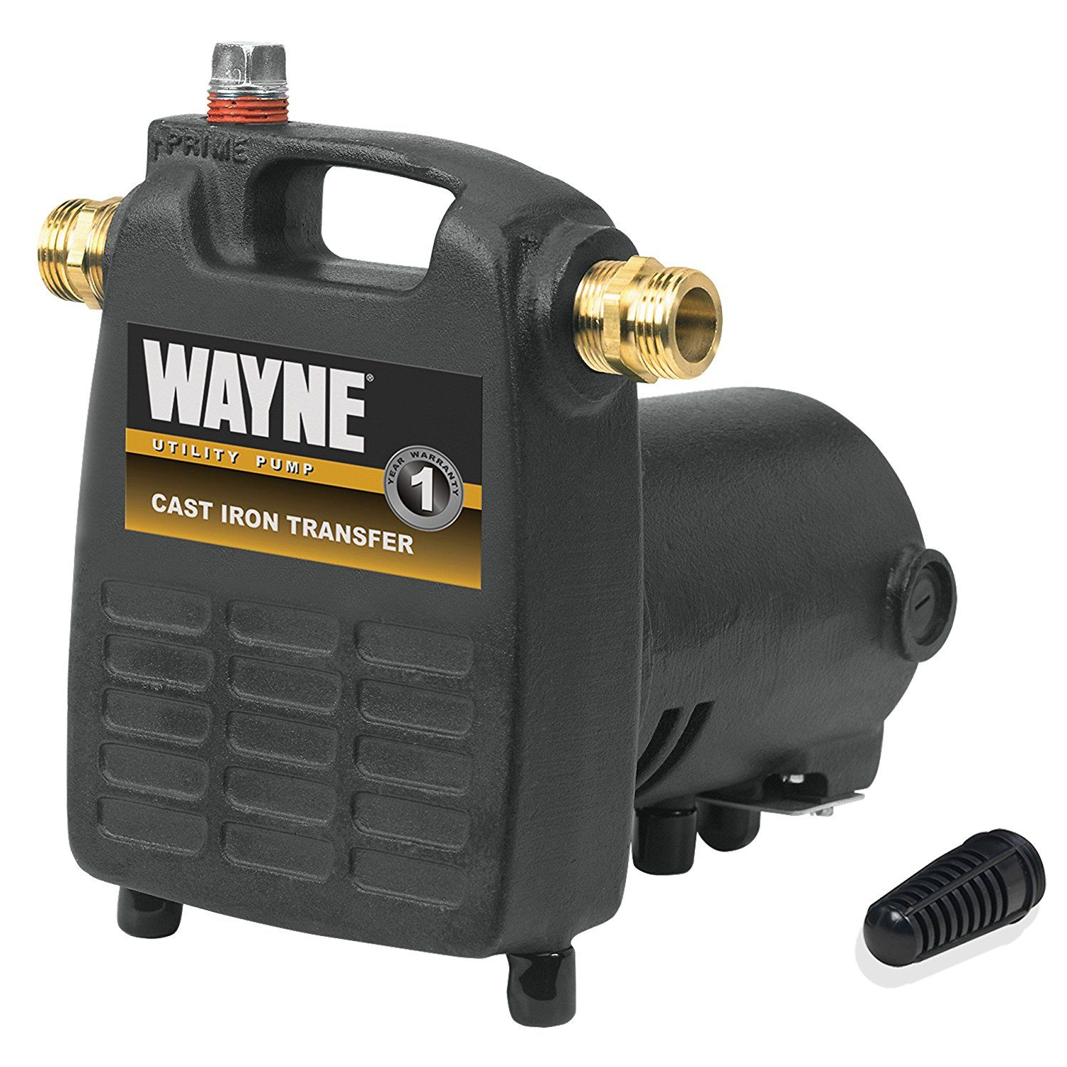 Wayne Pc4 1 2 Hp Cast Iron Multi Purpose Pump With Suction Strainer You Can Find More Details By V Utility Pumps Electric Water Pump Submersible Utility Pump