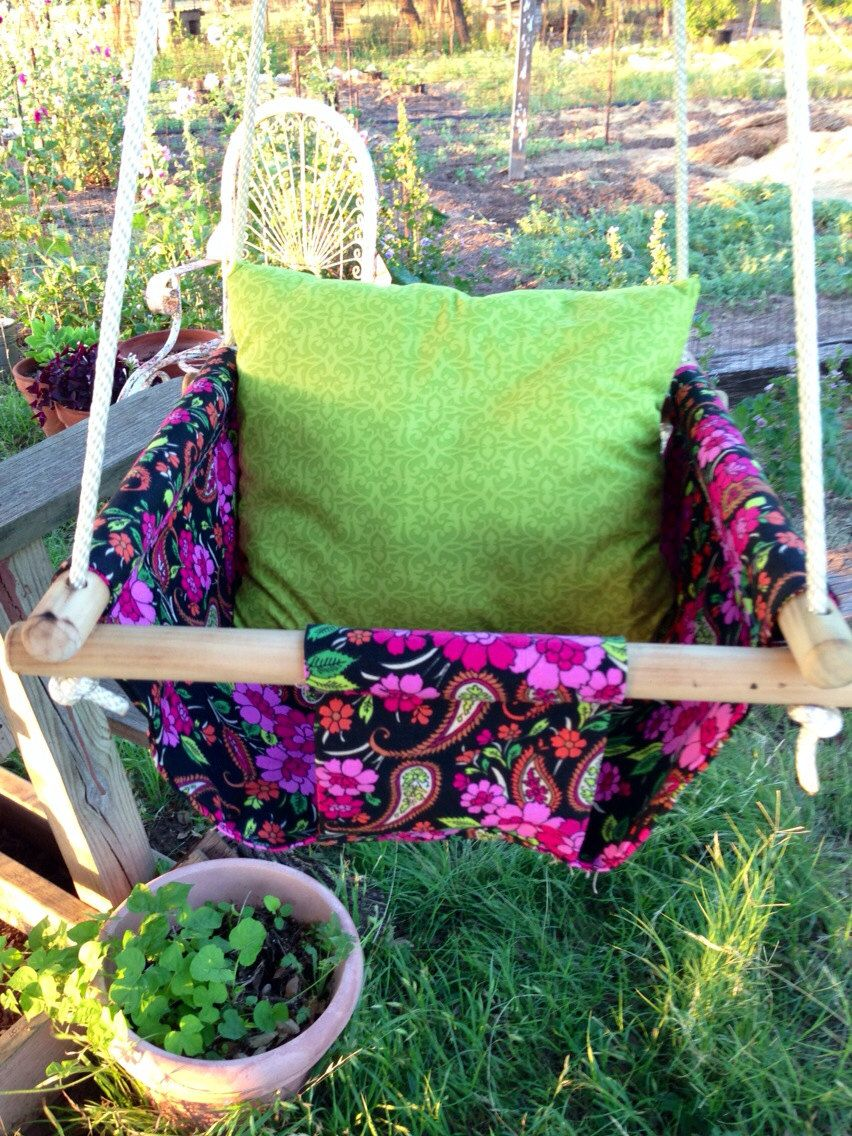 Bushy tales baby swing u pillow by texascottontales on etsy