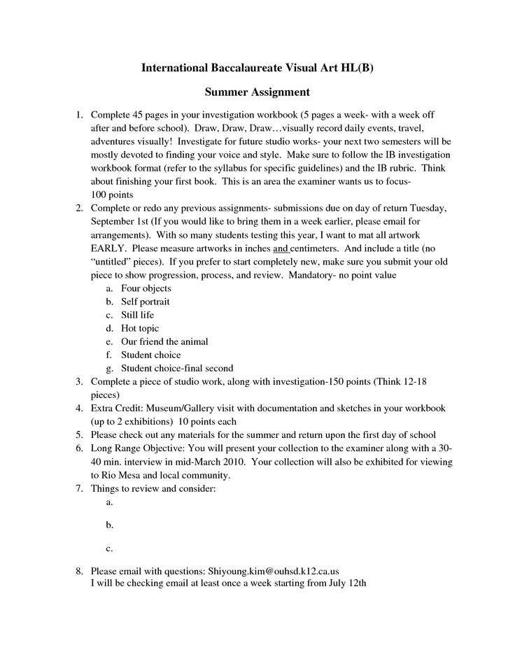 Ib Art Workbook Examples Ib Art Workbook Examples - after action report sample