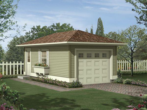 Exterior Free Standing Garage Plans