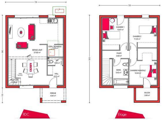 Modèle de maison Villa Sören -  Retrouvez tous les types de maison