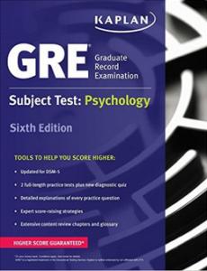 GRE Subject Test: Psychology (Kaplan Test Prep) | PDF | EPUB | 6th Edition