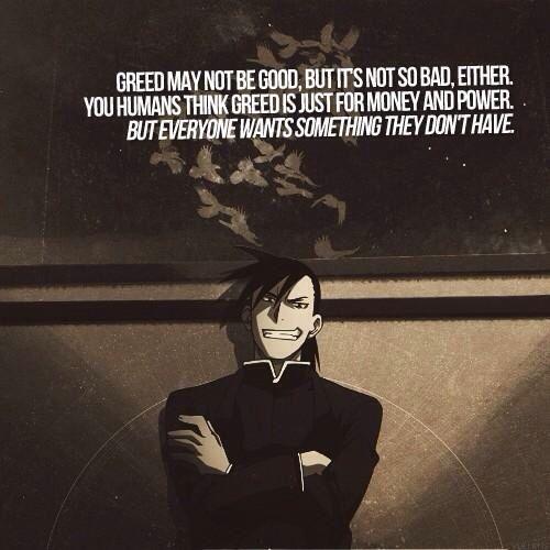 Greed The Avaricious Anime Fotos Fullmetal Alchemist