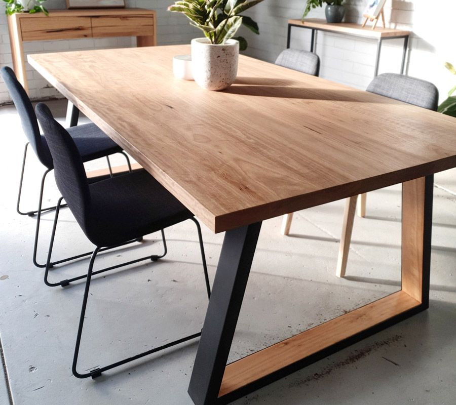 Industrial Dining Table J R Bespoke Designs In 2020 Industrial