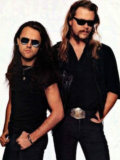 Metallica: James Hetfield and Lars Ulrich! - YouTube