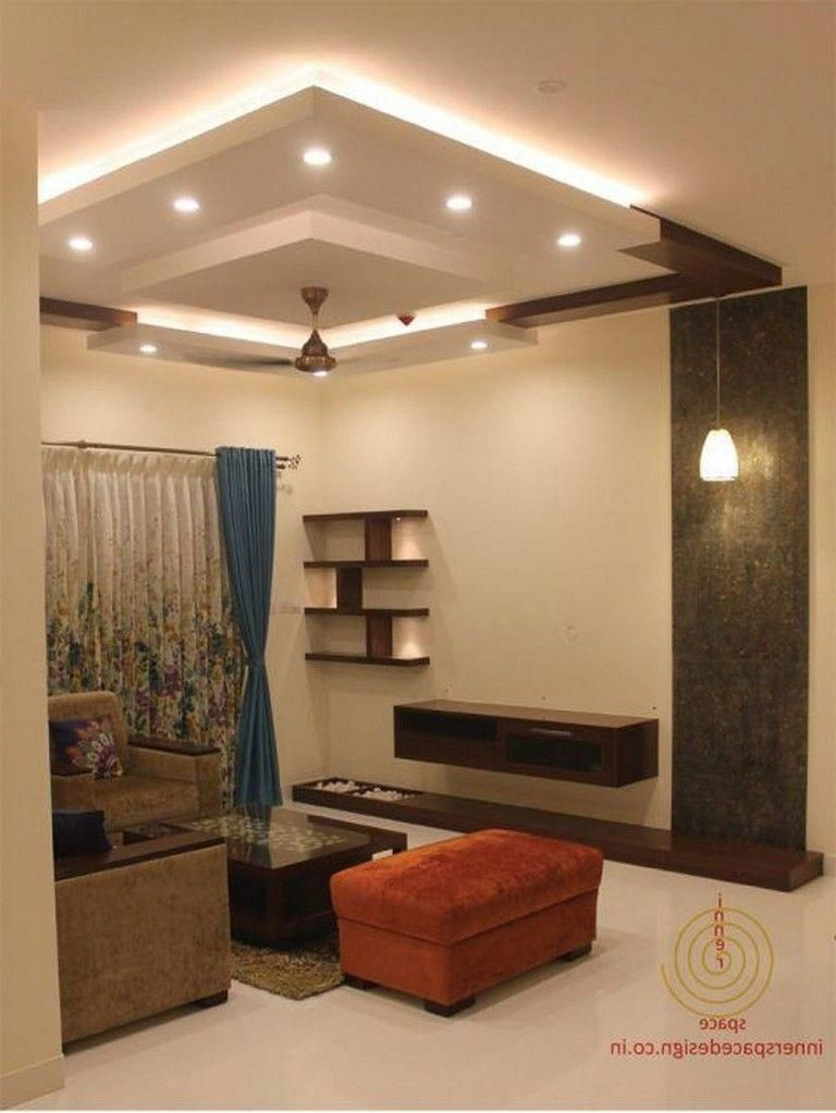 65 New False Ceilings With Cove Lighting Design For Living