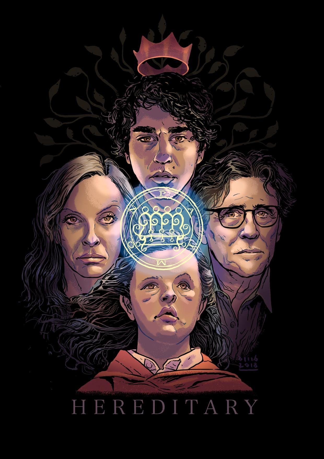 Hereditary 2018 1240 X 1754 Movieposterporn In 2019 Movie