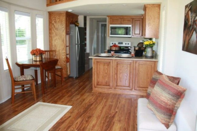 399 Square Foot Tiny House at Vintage Grace Community in Yantis ...