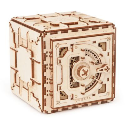 Ugears Safe 3d Mechanical Wooden Model Multi Products Wooden