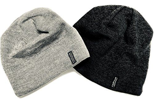 a9b8c214196 Merino Wool Beanie Hat Two Pack Dark Grey and Light Grey for MenWomen and  Kids  fashion  clothing  shoes  accessories  mensaccessories  hats (ebay  link)