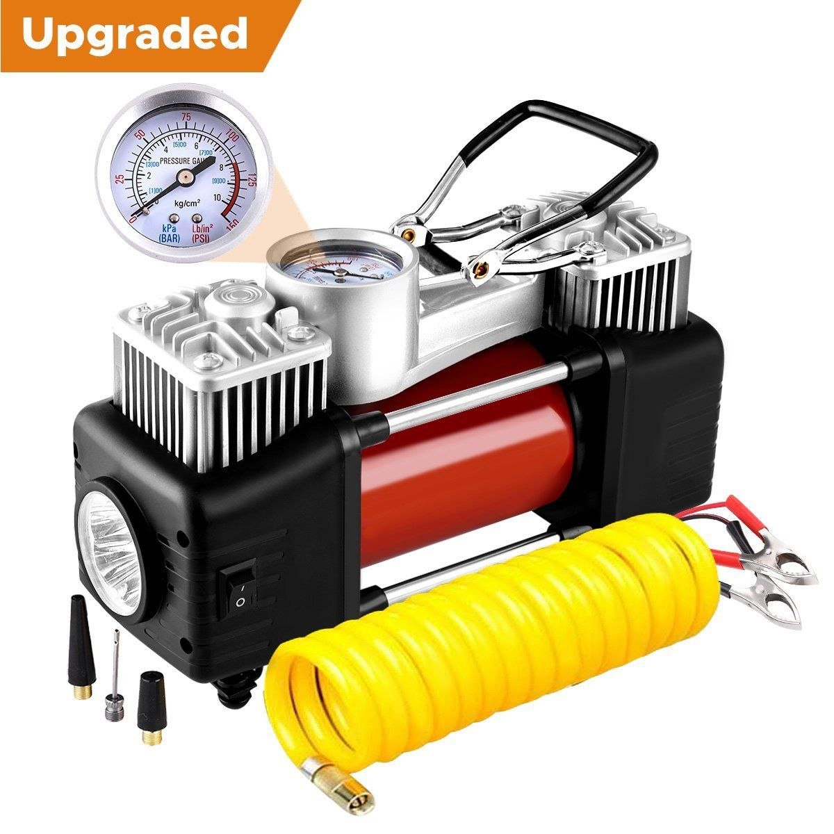 The Audew 2Cylinder Portable Air Compressor A Review