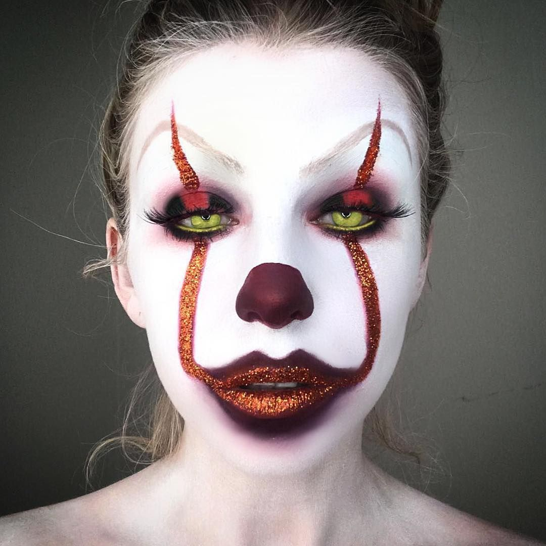 10 Creepy Pennywise the Clown Makeup Looks That Will Have