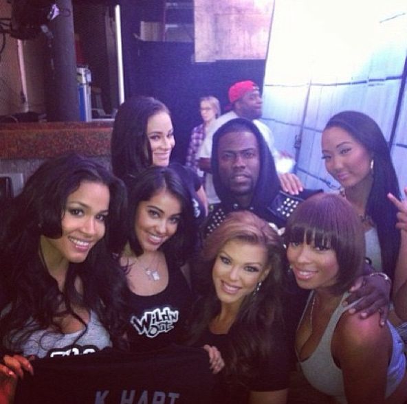 Wild and Out Cast | Kevin Hart & the Wild'N Out girls ...