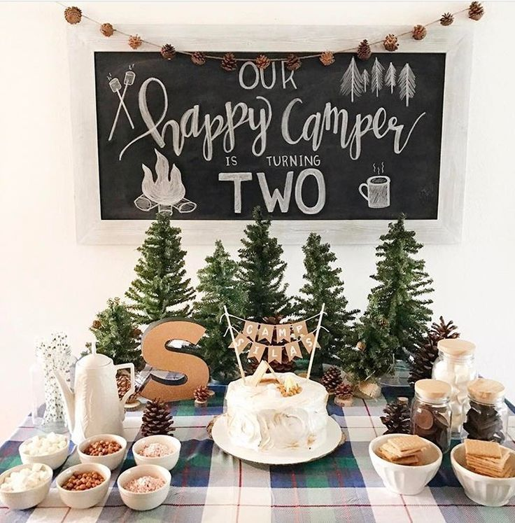 2nd birthday party - Camping theme | Bunch-O-Baby Stuff ...