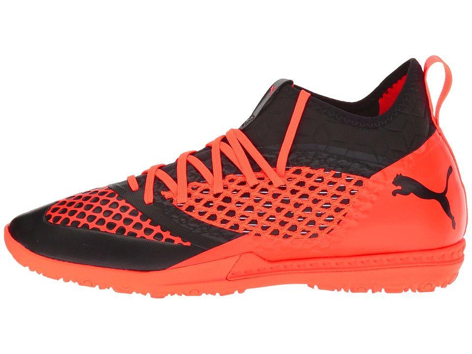 94c9567bb PUMA Future 2.3 Netfit TT Men's Shoes Puma Black/Shocking Orange ...