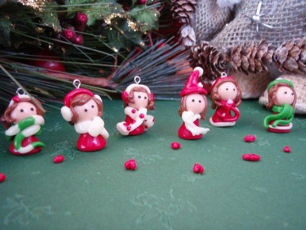 Hochwertig Figuren Basteln Mit Fimo Zu Weihnachten Zwerte Wichtel
