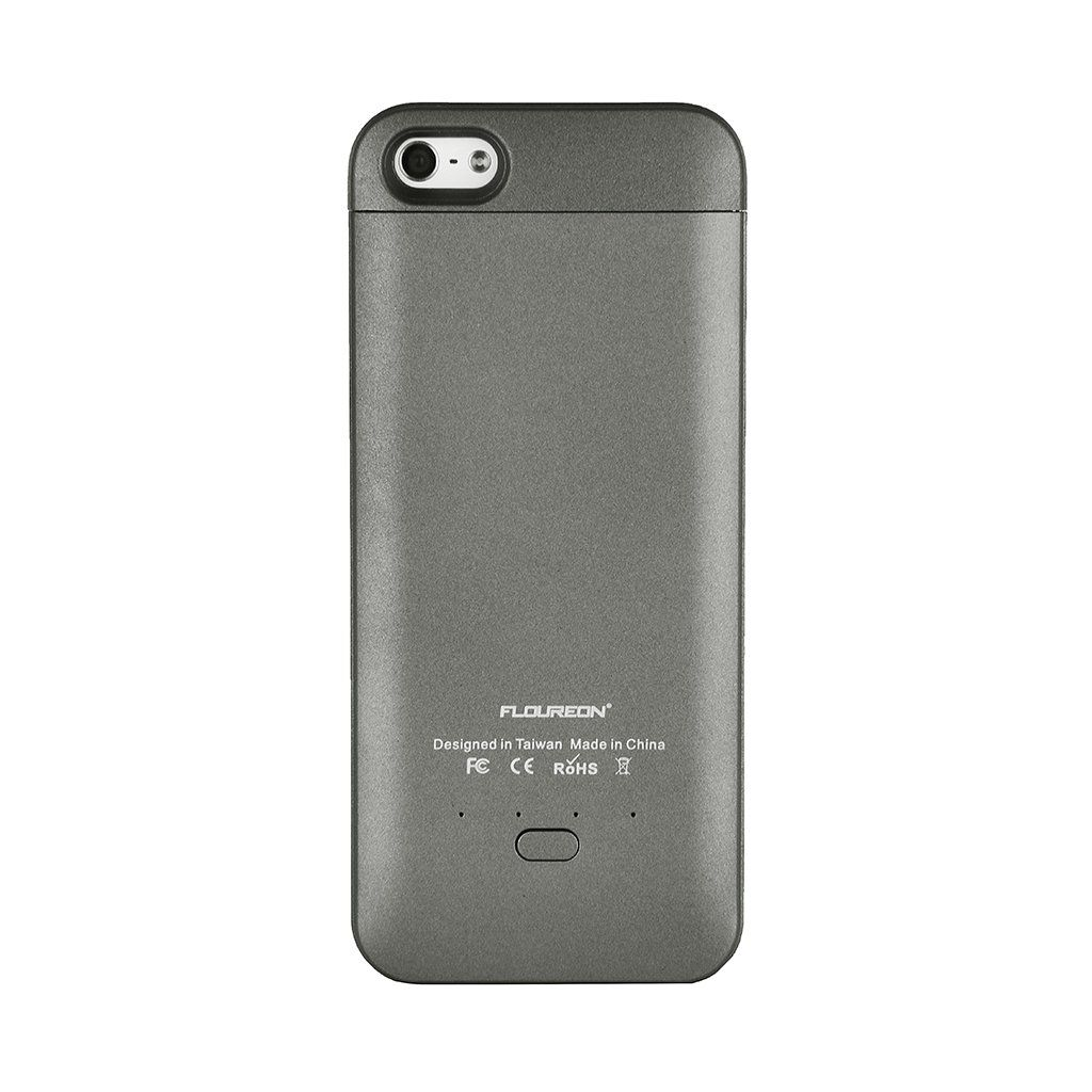 Amazon Com Floureon Apple Certified 2200mah External Protective Battery Charger Case Juice Pack For All Versions Of I Iphone Cell Phone Accessories Iphone 5s