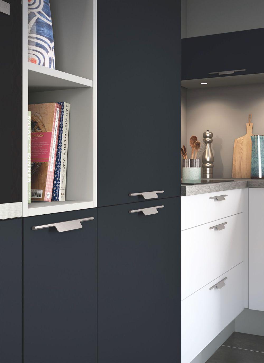 Poignée De Porte Cuisine Design poignées de cuisine : boutons de meubles design | poignée