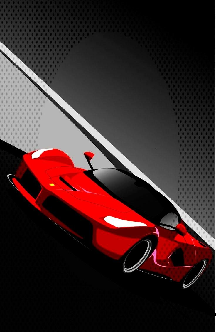 drawing Ferrari drawing   The new paradigm of gran turismo, delivering high performance and supreme