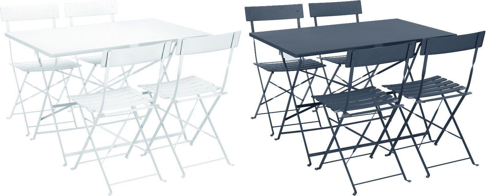 Gartenmobel Tisch Stuhl Bistro Klapptisch Klappstuhl G