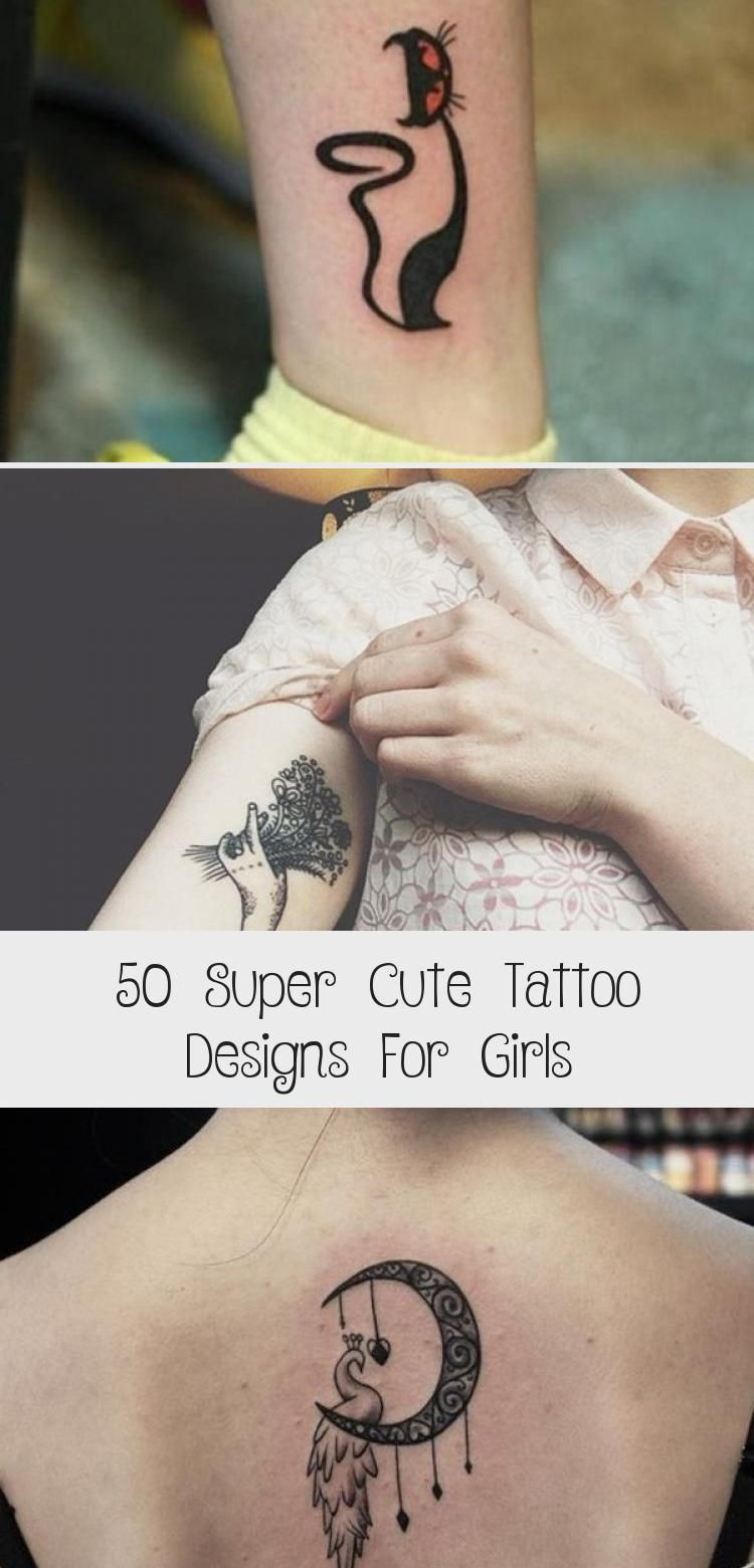 50 Super Cute Tattoo Designs For Girls (With images