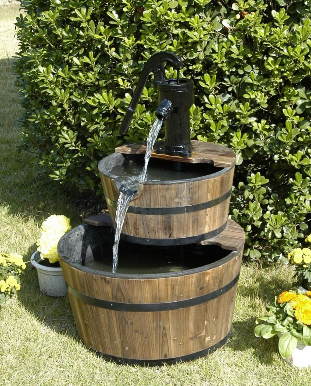 Elegant Fresh Modern Outdoor Fountains Baton Rouge #12466