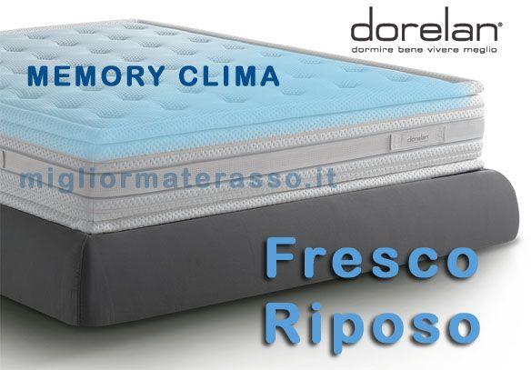 Materassi In Memory Offerte.Dorelan Fresco Riposo Offerte Materassi Memory Clima Dorelan Myform