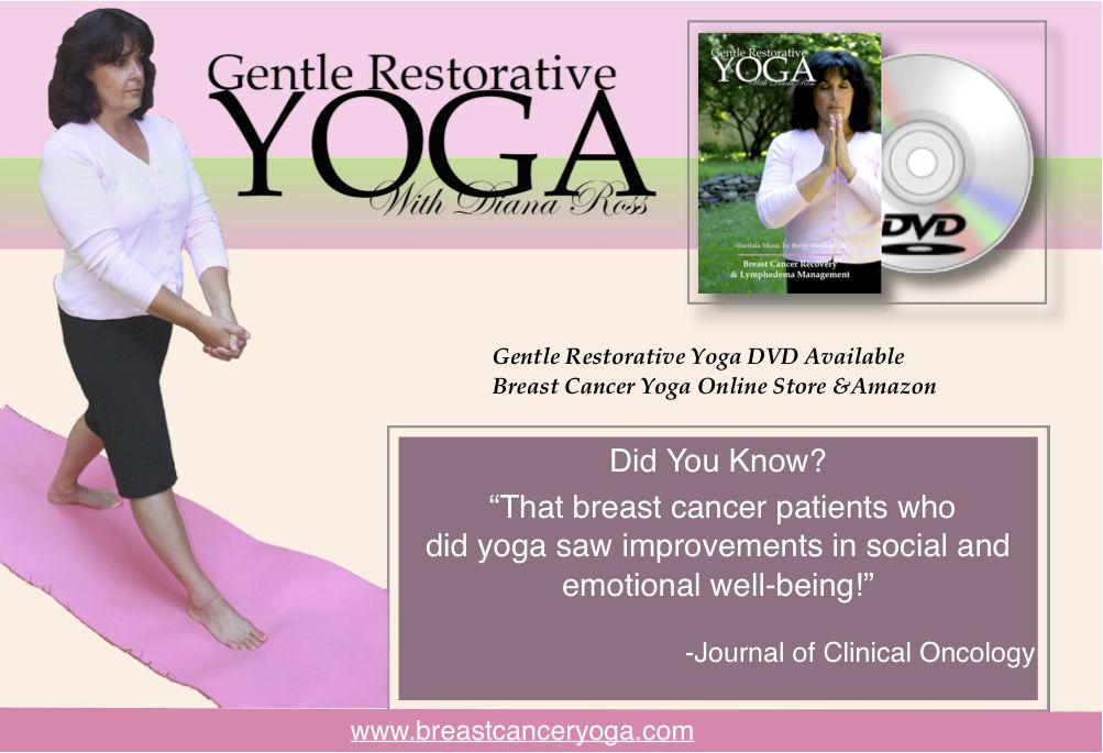 Gentle yoga for breast cancer survivors