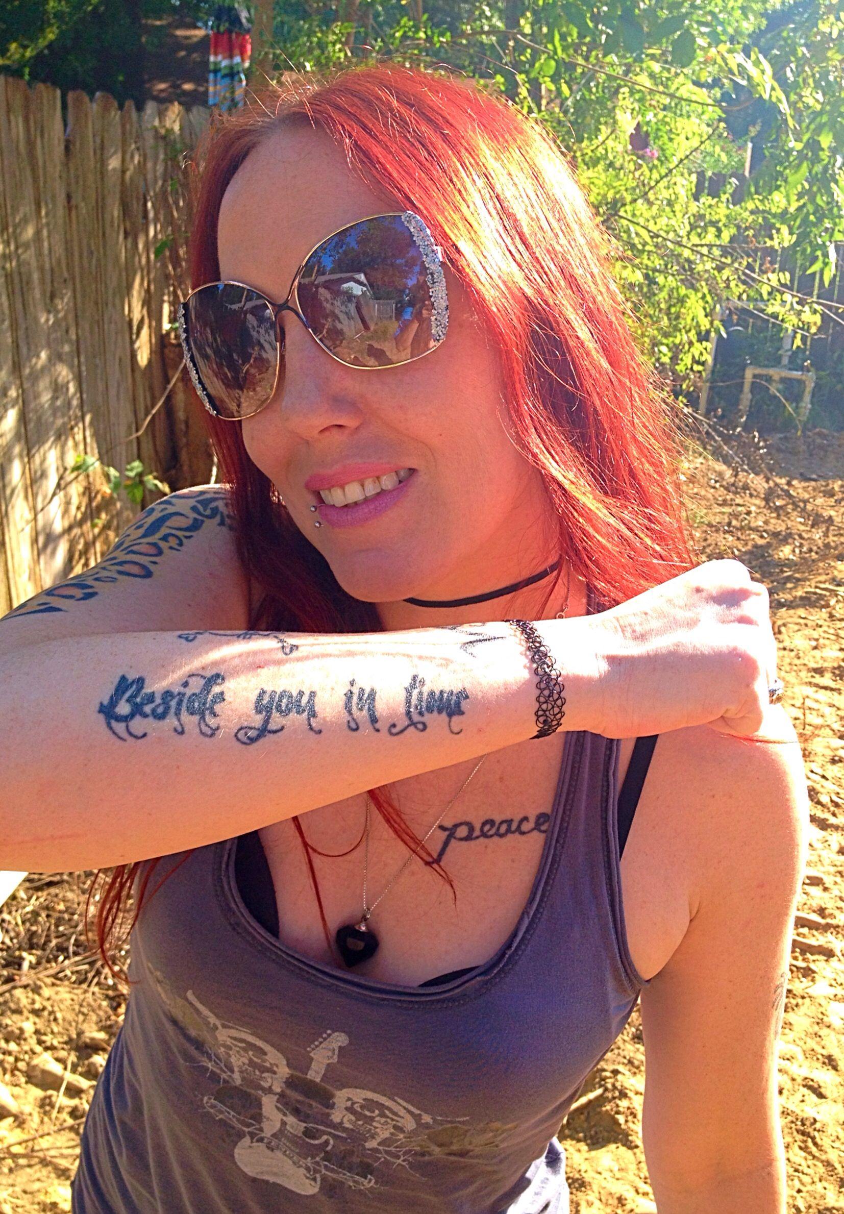 My Nine Inch Nails tat. (For my mama). | MUSIC | Pinterest | Tatting ...