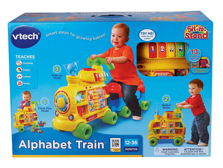 Vtech sittostand alphabet train stuff for little ts bday pinterest