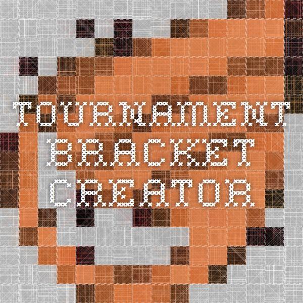 Tournament Bracket Creator (With images) | Bracket, Beer ...