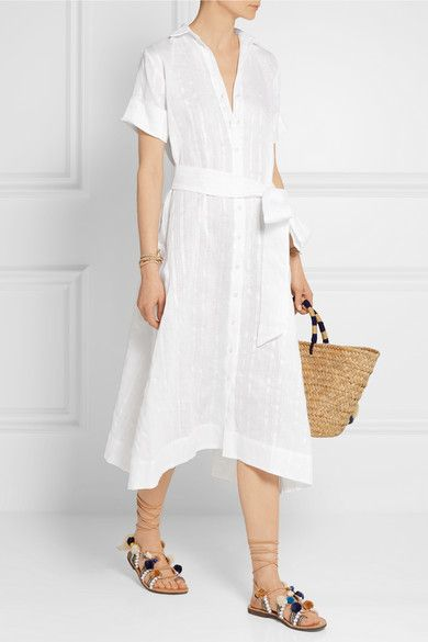 Linen Shirtdress Lisa Marie Fernandez Clearance Discount Factory Outlet Best Prices 100% Authentic VW86pCsWml
